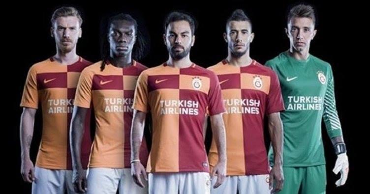 Galatasarayile Türk Hava Yolları Sponsorluğu