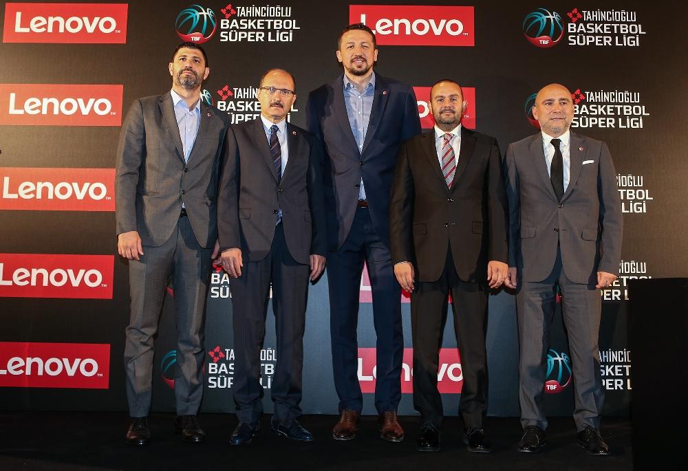 Lenovo, Tahincioğlu Basketbol Süper Ligi'nin Ana Sponsoru