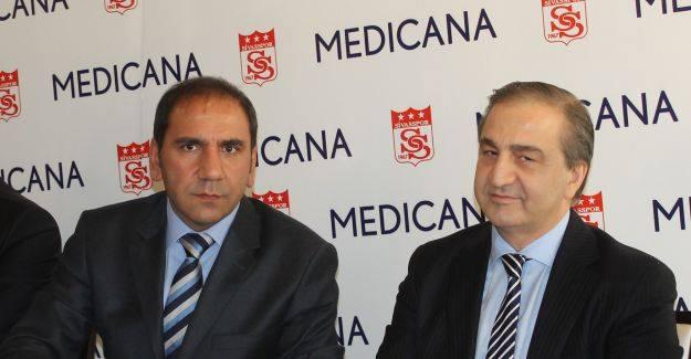 Medicana, Sivasspor'a Sponsor Olmaya Devam Edecek