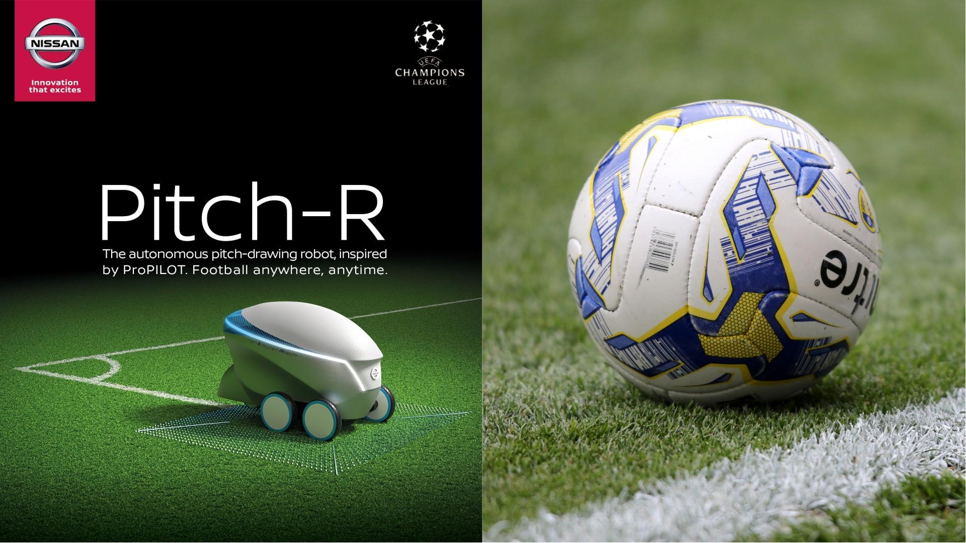 Nissan UEFA'da Teknolojisini Tanıttı