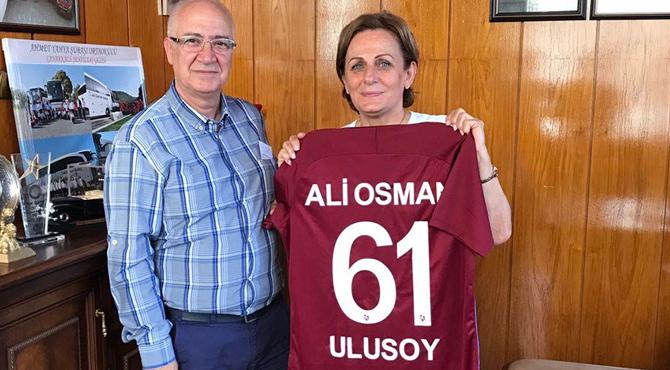 Trabzonspor İle Ulusoy Sponsorluğu Yenilendi