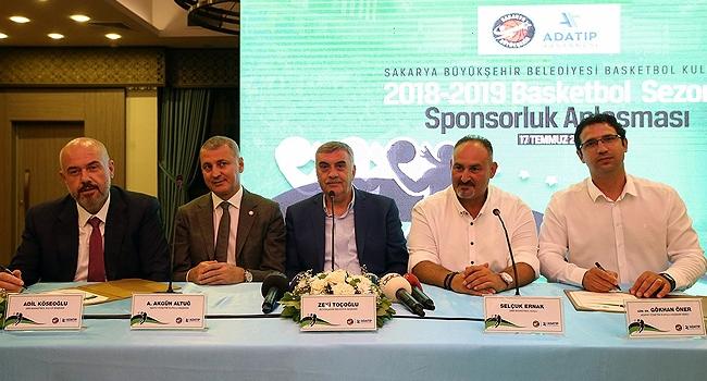 Sakarya Büyükşehir Belediyespor'a ADATIP Hastanesi sponsor oldu