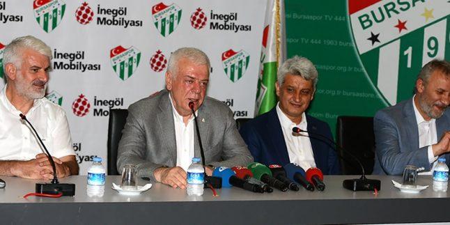 Bursaspor, İnegöl Mobilya Sanayicileri Derneği ile anlaştı