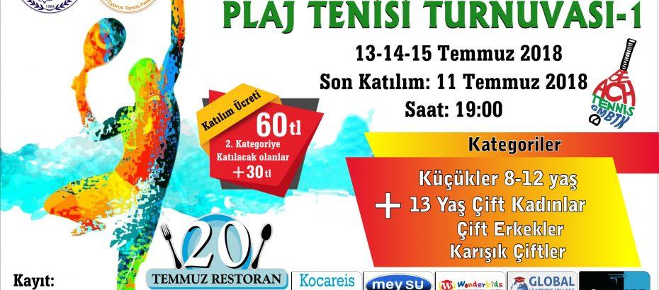 KKTF-GMBTK Puanlı Plaj Tenisi Turnuvası Sponsorları