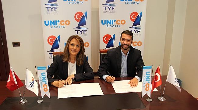 Unico Sigorta Türkiye Yelken Federasyonu'na sponsor oldu