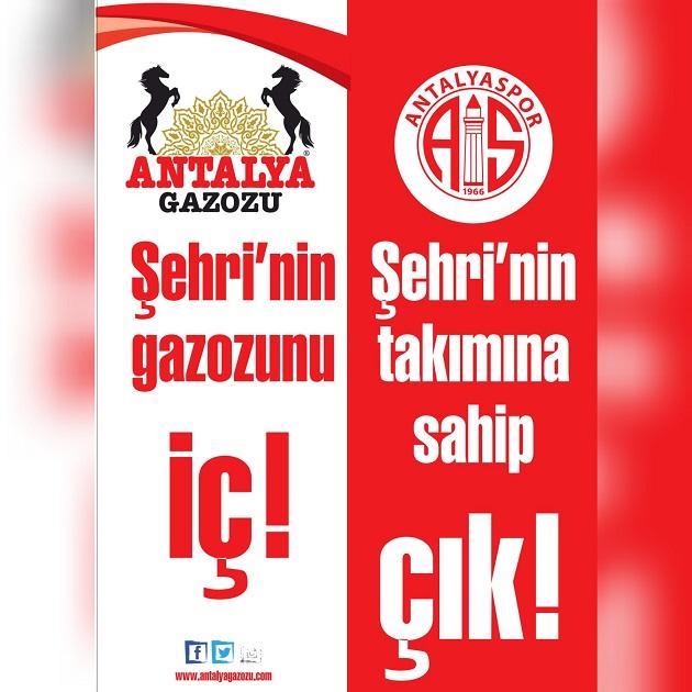 Antalyaspor, Gazozlardan Gelir Elde Edecek