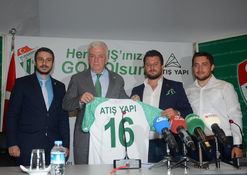 Bursaspor – Atış Yapı Forma Şort Sponsorluğu