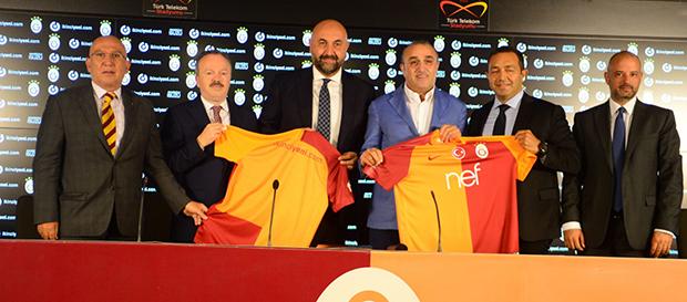 Galatasaray ile ikinciyeni.com sponsorluk anlaşması imzaladı