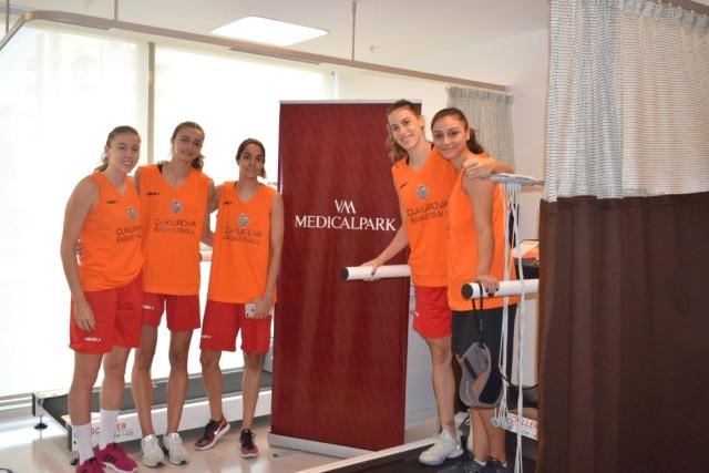 Çukurova Basketbol'un Sağlık Sponsoru VM Medical Park Mersin Hastanesi Oldu