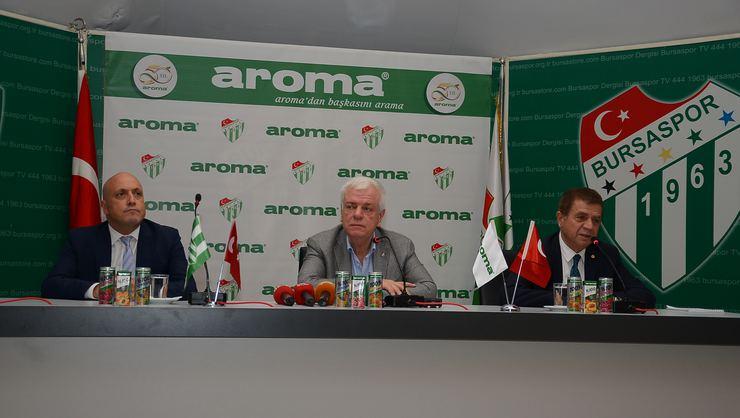 Bursaspor – Aroma Çorap Sponsoru Anlaşması