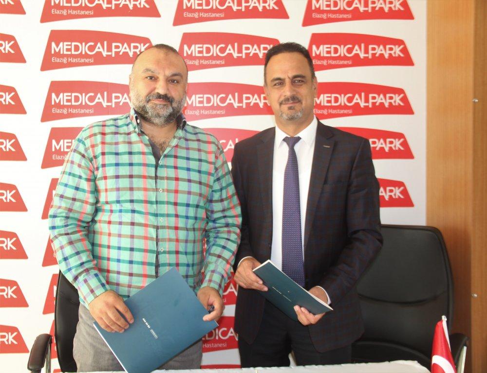 Elazığspor ile Medical Park Hastanesi Arasında Sponsorluk Anlaşması İmzalandı
