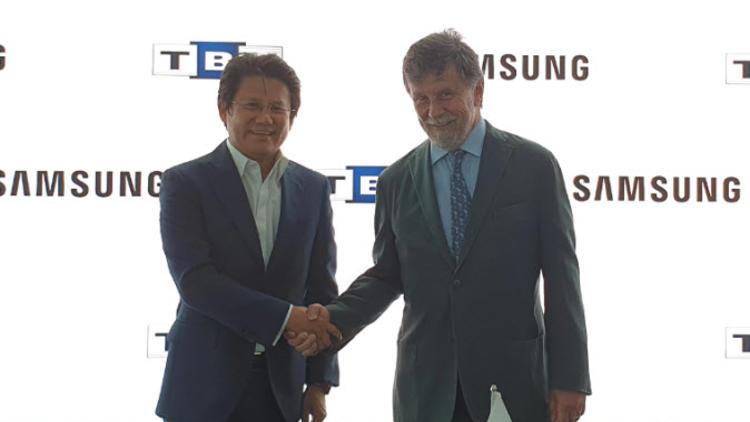 Samsung Electronics Türkiye ve Türkiye Bilişim Vakfı Sponsorluğu