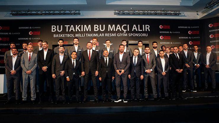 Türkiye Basketbol Federasyonu ve Altınyıldız Classics Sponsorluk Detayları