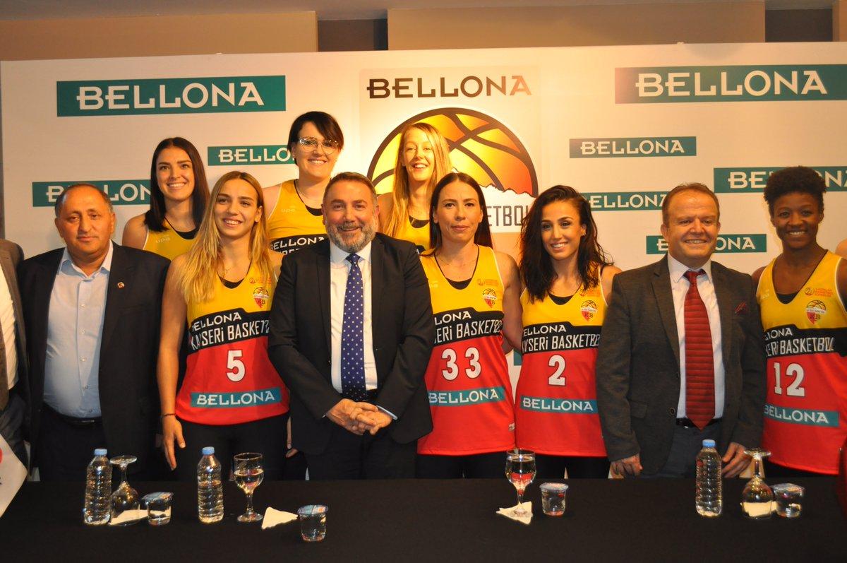 Bellona, Kayseri Basketbol'un İsim Sponsoru Oldu
