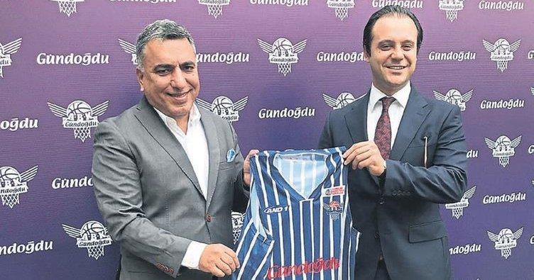 Gündoğdu, Adana Basketbol'a Sponsor Oldu