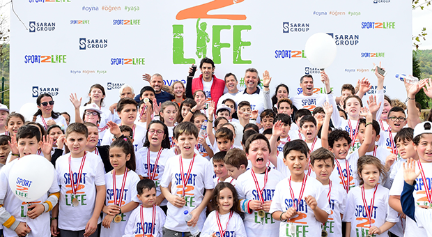 Sport2Life etkinliğinin ana sponsoru Saran Holding