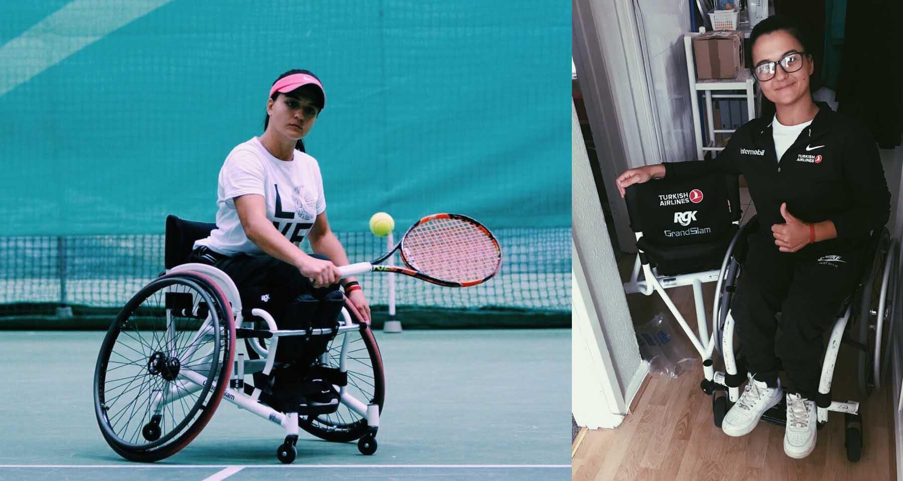 THY, Paralimpik Tenisçi Büşra Ün'e Sponsor Oldu