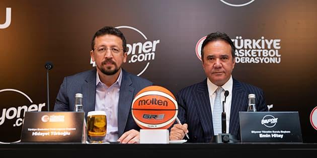 Bilyoner, Basketbol Federasyonu'nun 3 Yıllık Forma Şort Sponsoru Oldu