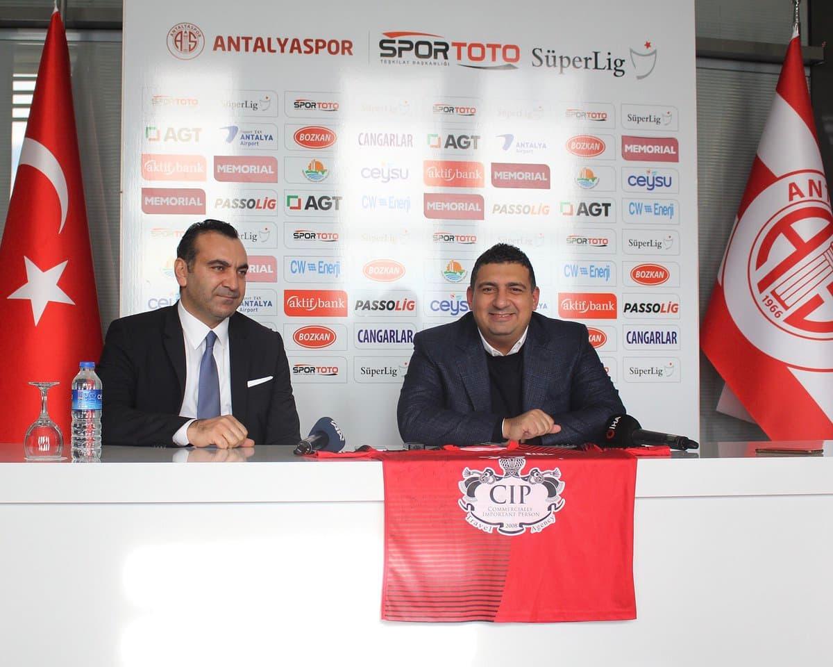 CIP Travel Agency Antalyaspor Henbol Takımı'nın 5 Yıl İsim Sponsoru