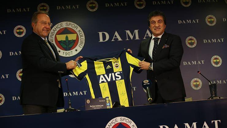 Fenerbahçe, Damat ile 3 Yıllık Resmi Kıyafet Sponsorluğu Anlaşması İmzaladı