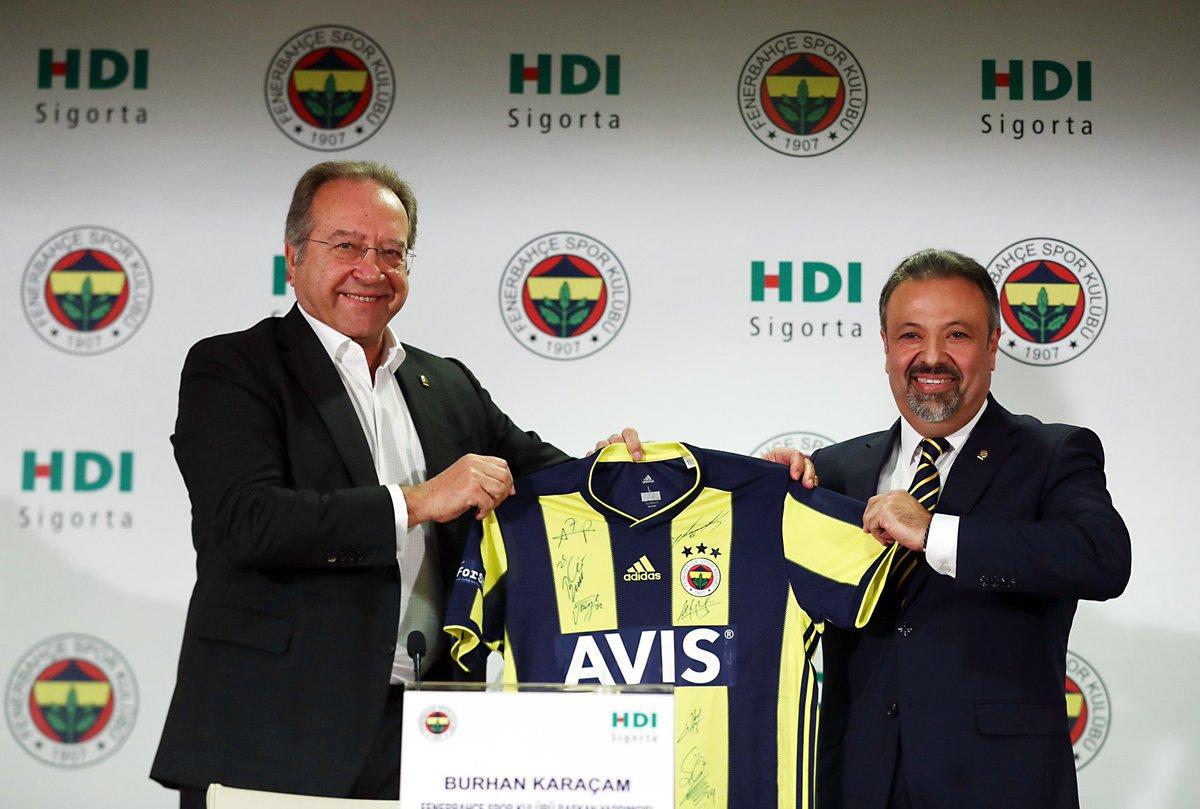 Fenerbahçe – HDI Sigorta 3 Yıllık Sigorta Sponsorluğu