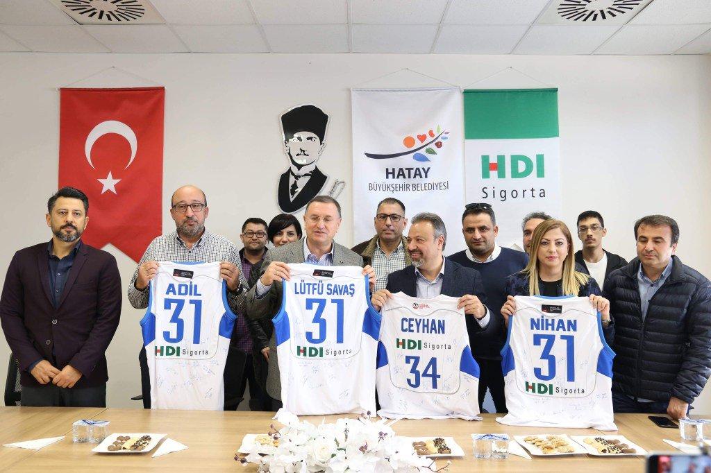 HDI Sigorta, Hatay Büyükşehir Belediyespor'a Sponsor Oldu