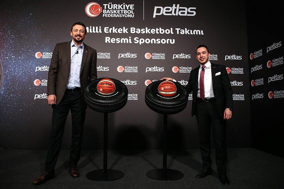 PETLAS – A Milli Erkek Basketbol Takımı'nın Resmi Sponsoru Oldu
