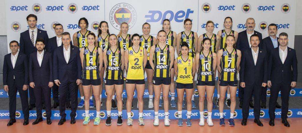 Fenerbahçe Kadın Voleybol Takımı'nın İsim Sponsoru OPET