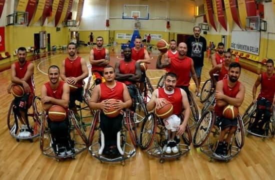 GSYİAD, Galatasaray Tekerlekli Sandalye Basketbol Takımı'na Sponsor Oldu