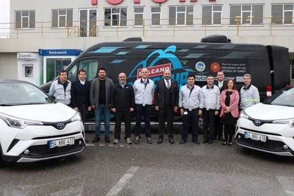 Dünya Dağ Bisikleti Maraton Şampiyonası'nın Ana Araç Sponsoru Toyata
