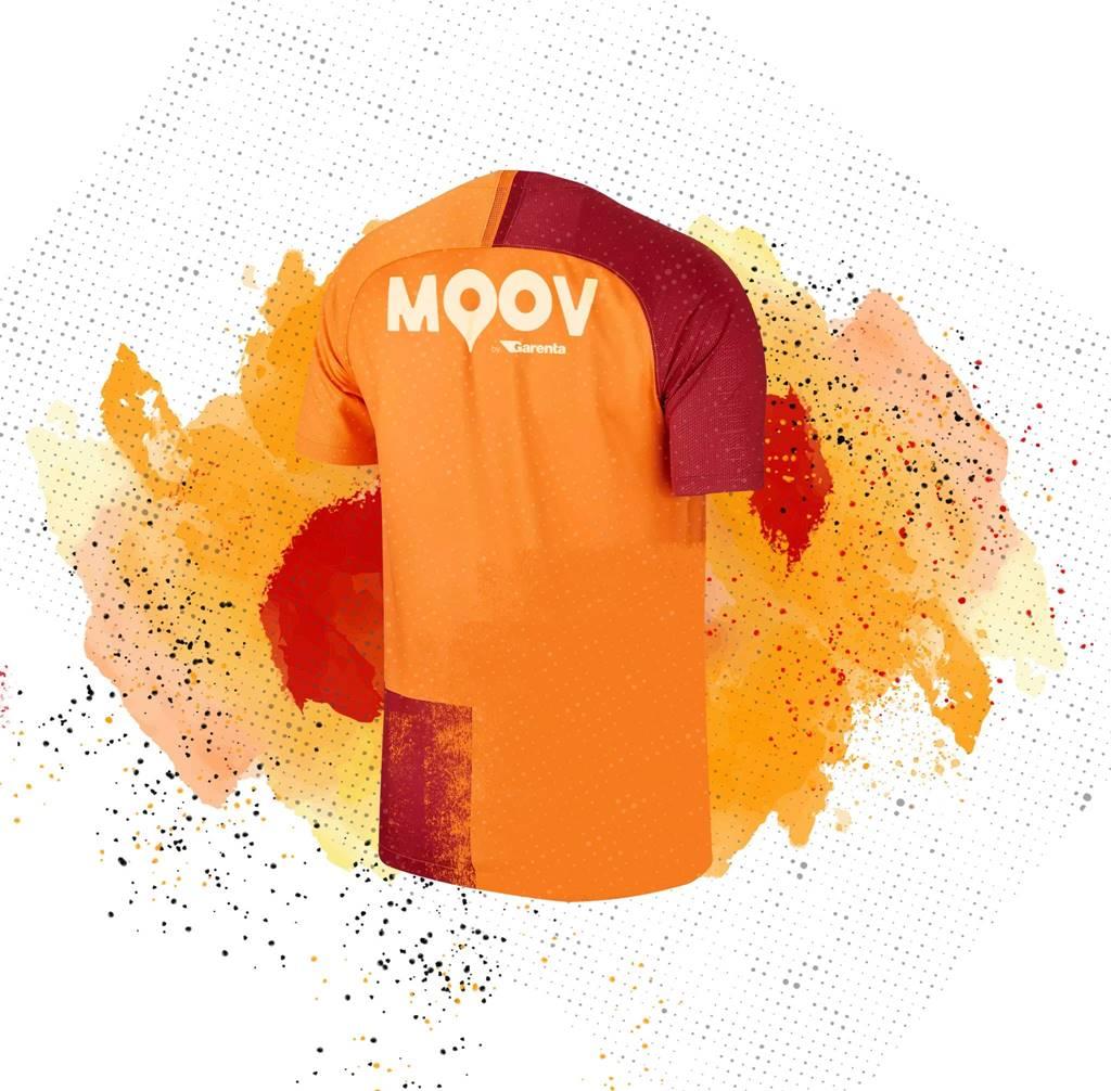 Galatasaray Futbol Takımı'nın forma sırt sponsoru MOOV by Garenta oldu.