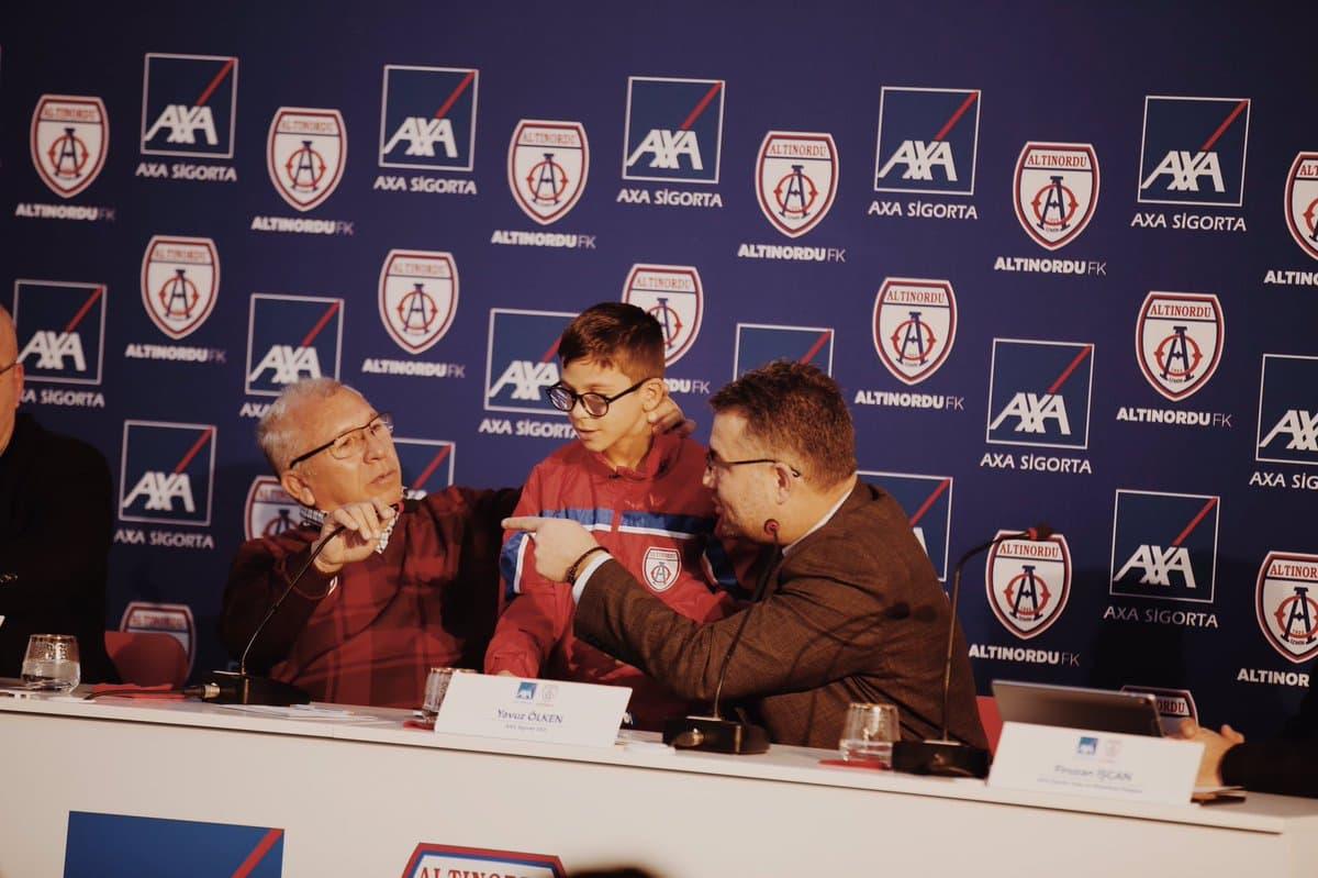 Axa Sigorta, Altınordu Futbol Kulübü'nün Sigorta Sponsoru Oldu