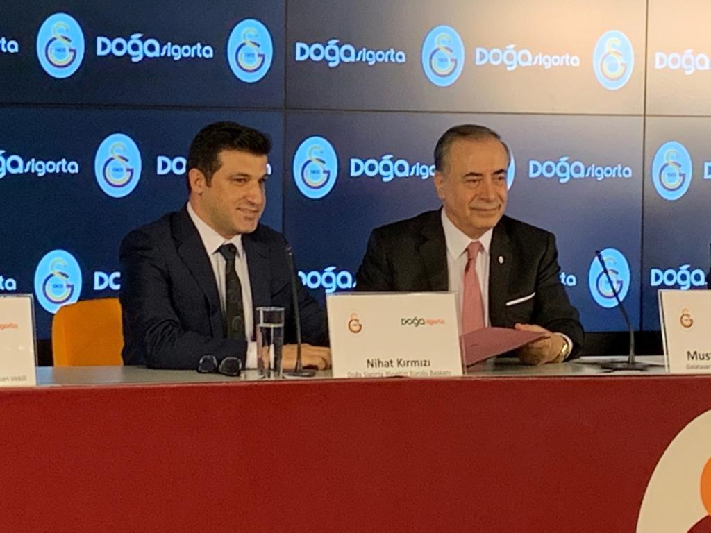 Galatasaray – Doğa Sigorta Erkek Basketbol Takımı İsim Sponsorluğu