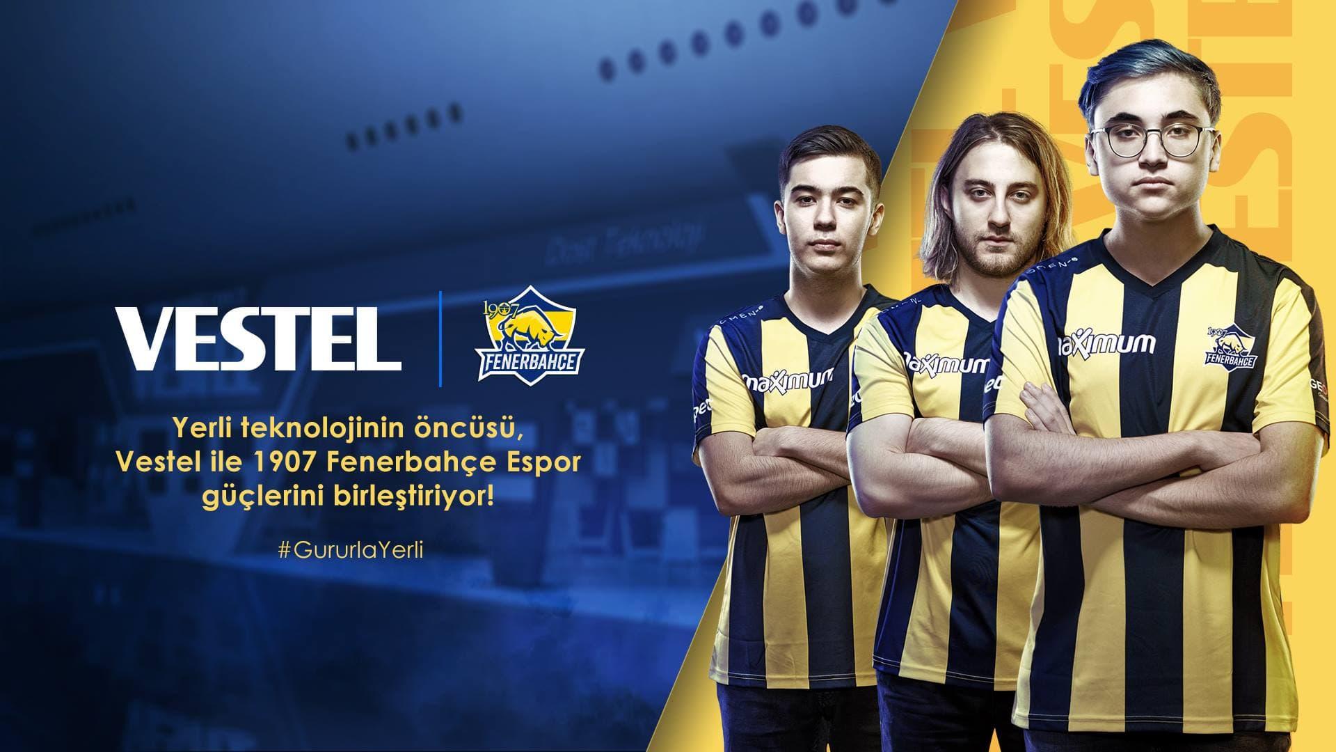 Vestel, 1907 Fenerbahçe Espor Takımı'na Sponsor Oldu