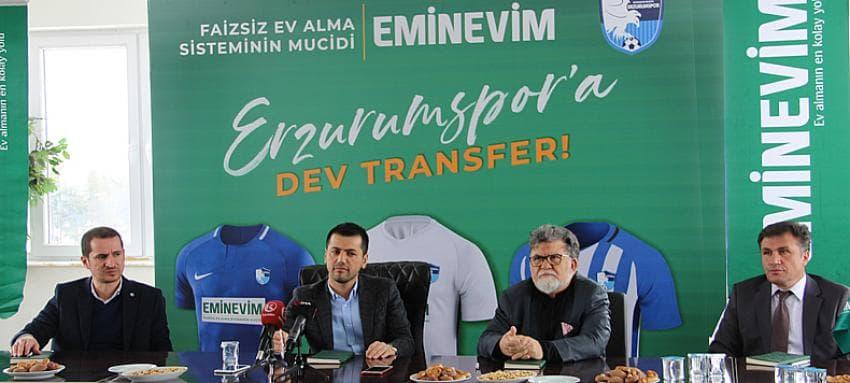 Eminevim, BB Erzurumspor Sponsorluk Anlaşması Detayları