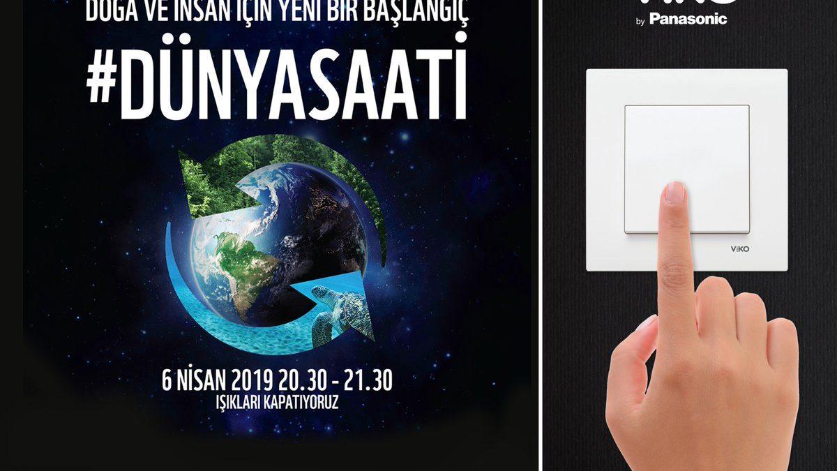 Dünya Saati Etkinliği'nde 6 Nisan'da Işıklar Gelecek için Kapanacak