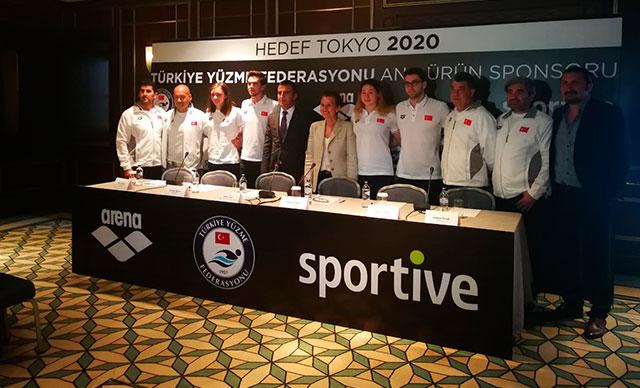 Sportive, Yüzme Federasyonu Sponsorluğunu Yeniledi