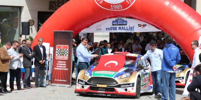 Türkiye Ralli Şampiyonası Seferihisar'da Başladı