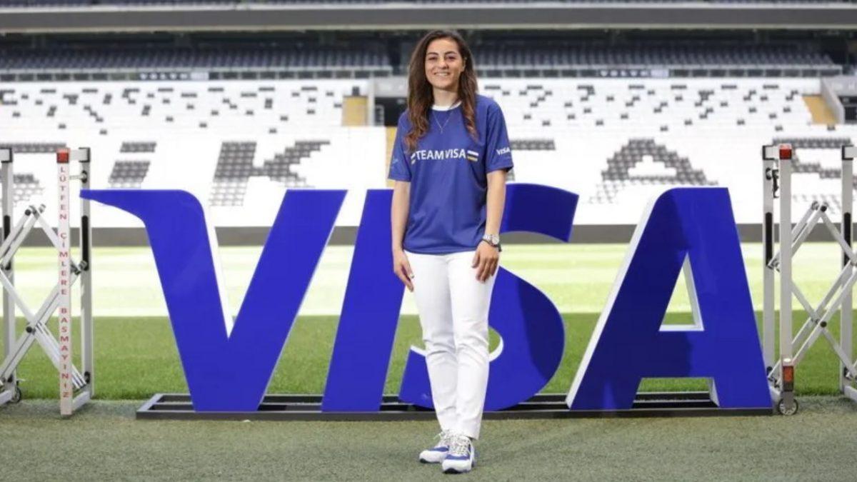 Visa, Türkiye Kadın Milli Futbol Takımı Kaptanı Didem Karagenç'e Sponsor Oldu