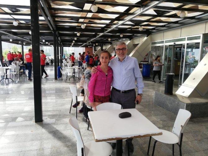 Oryantiring Sporcusu Elif Gökçe Avcı, Türkiye Şampiyonu Oldu