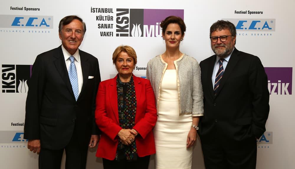 47. İstanbul Müzik Festivali, ECA Sponsorluğunda Başladı