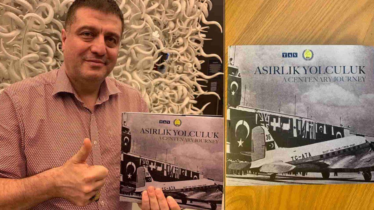 Atatürk Havalimanı'nın Tarihi TAV Havalimanları ve Fly Service Sponsorluğunda Kitaplaştırıldı