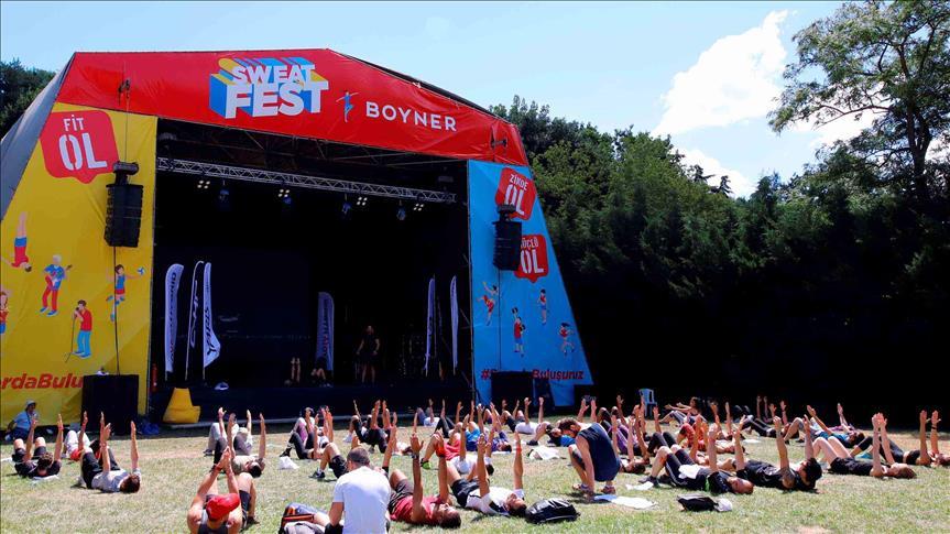 Boyner Sponsorluğunda Düzenlenen SWEAT FEST, Bu Yıl 10 Bine Yakın Kişiyi Ağırladı