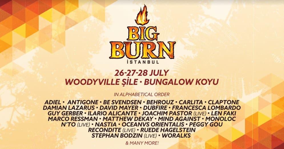 Big Burn İstanbul, Burn Enerji Sponsorluğunda Şile'de Gerçekleşecek