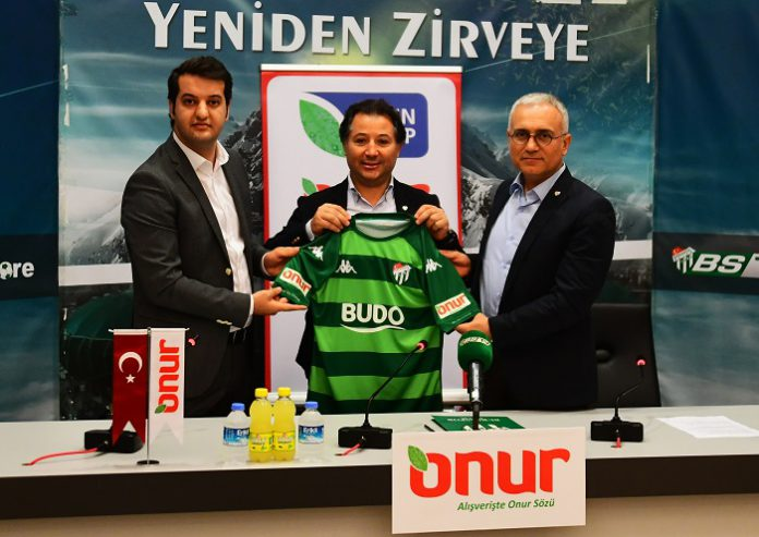 Onur Market, Bursaspor'un Forma Kol Sponsoru Oldu