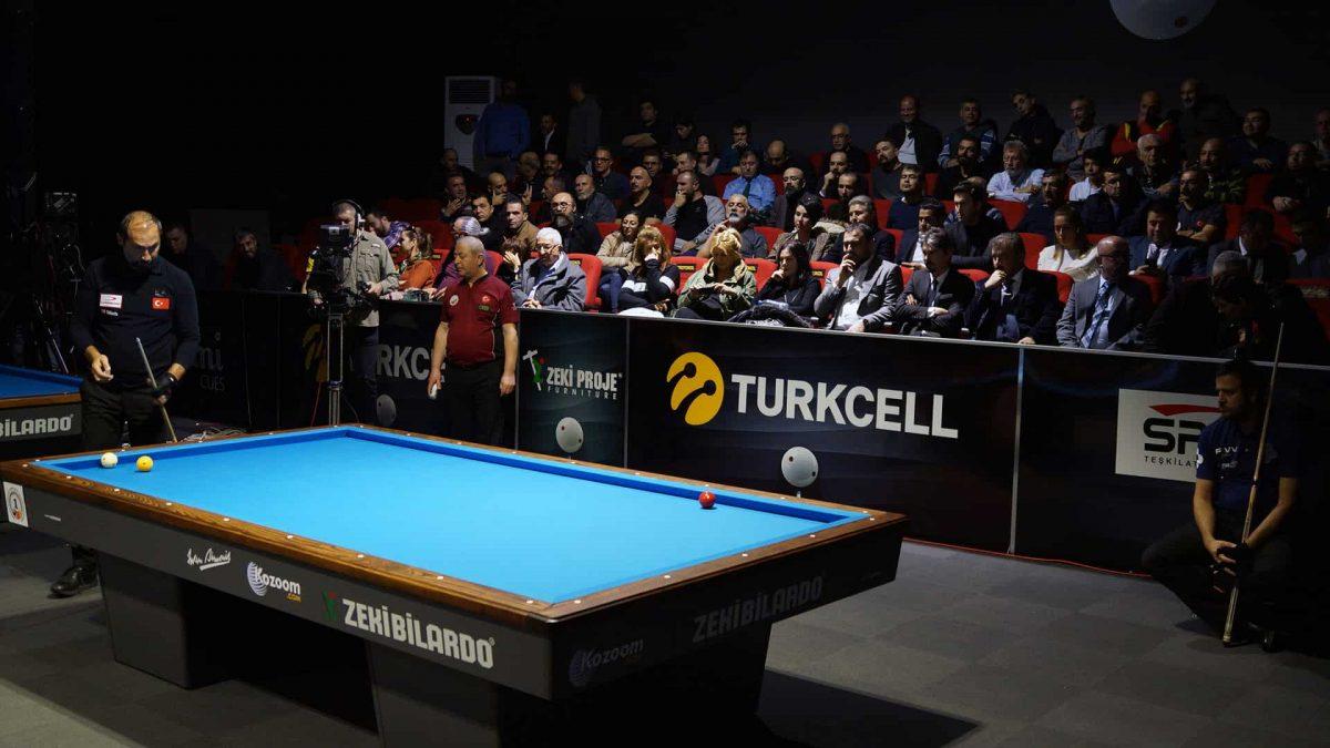 Survival Masters 3 Bant Bilardo Turnuvası, Turkcell'in Ana Sponsorluğunda Gerçekleşecek