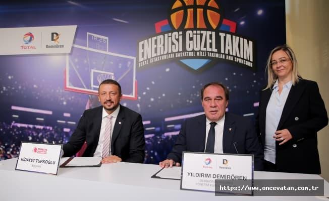 Total Oil, Basketbol Milli Takımları'nın Ana Sponsoru Oldu