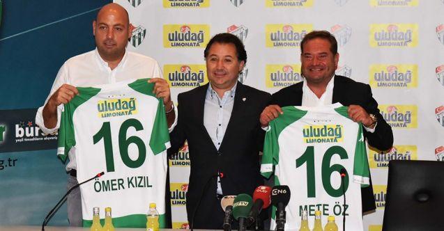 Uludağ, Bursaspor'un Forma Sırt Sponsoru Oldu