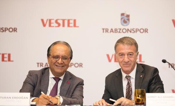 Vestel, Trabzonspor'un Göğüs Sponsoru Oldu
