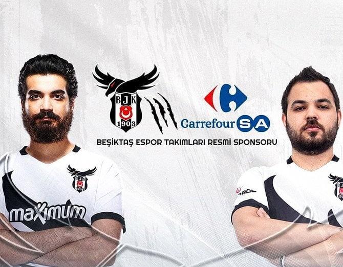 CarrefourSA, Beşiktaş Esports Takımına Sponsor Oldu